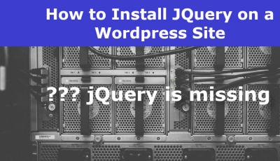install JQuery and JQuery-Migrate on a Wordpress site